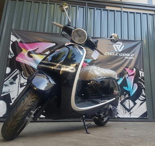 scooter gilera piccola 150 0km 2020 negro tempo al 19/7