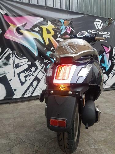 scooter gilera piccola 150 0km 2020 rojo/azul al 22/02