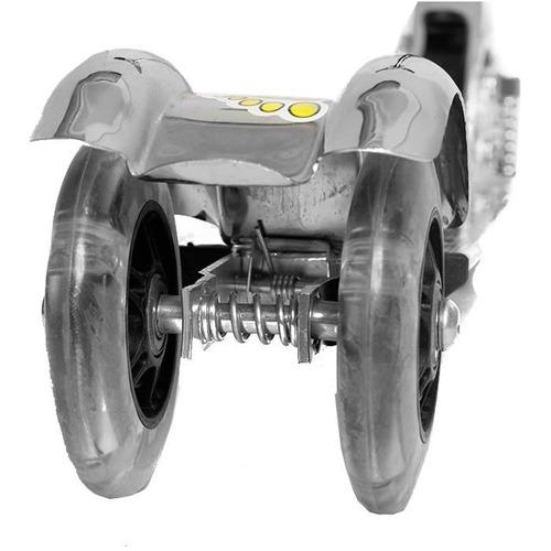 scooter grande de alumino con suspension reforzado resisten
