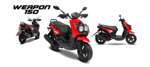 scooter guerrero 150 weapon