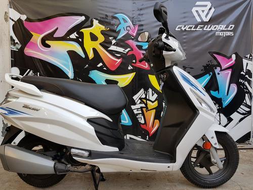 scooter hero dash full 8.4 hp 0km  ex hero honda al 19/10