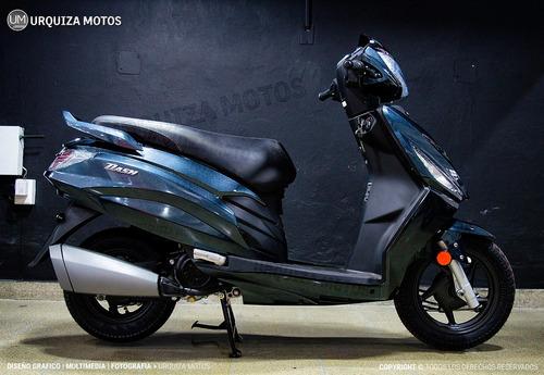 scooter hero dash moto motos