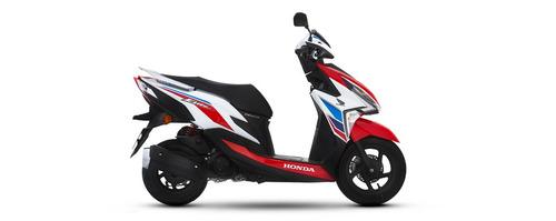 scooter honda new elite 125 tricolor 2020 motoswift
