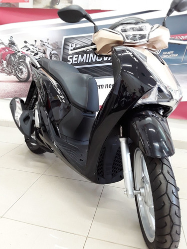 scooter honda sh 150i deluxe abs smartkey led tomada 12v
