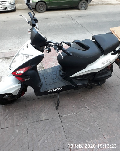 scooter kimco agility nacked125 vol. desnudo apto gps etc.
