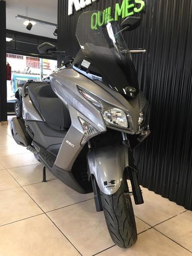 scooter kymco xtown 250 0km 2020 unico oficial kymco quilmes
