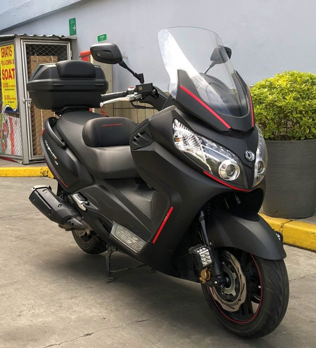 scooter maxsym 600 i abs deportiva