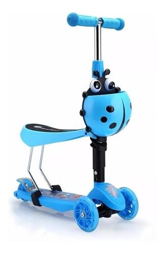 scooter monopatin 3 en 1 ajustable chinita / lhua store