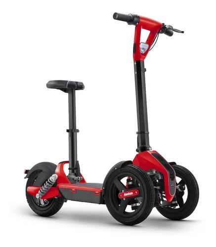 scooter monopatín eléctrico doohan plegable 3ruedas estable