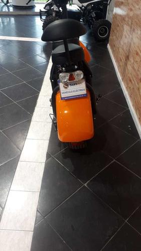 scooter monopatín eléctrico sunra spyracing - ecomove