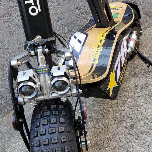 scooter monopatín eléctrico velocifero mad