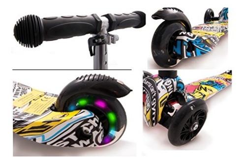 scooter monopatin ruedas led varios modelos  oferta !!!