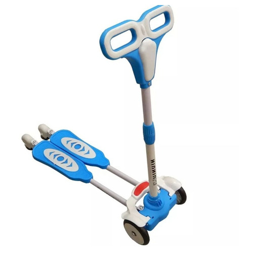scooter monopatin  tijera ruedas led niñ@s  / lhua store