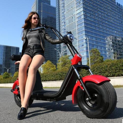 scooter moto electrica citycoco bateria 20 ah removible 60km