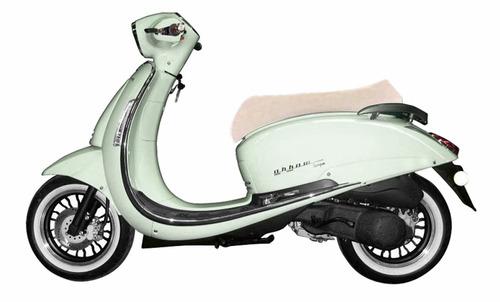 scooter moto retro beta tempo 150 0km deluxe nuevos colores