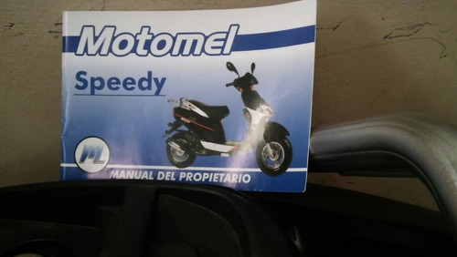 scooter motomel impecable 50 cc