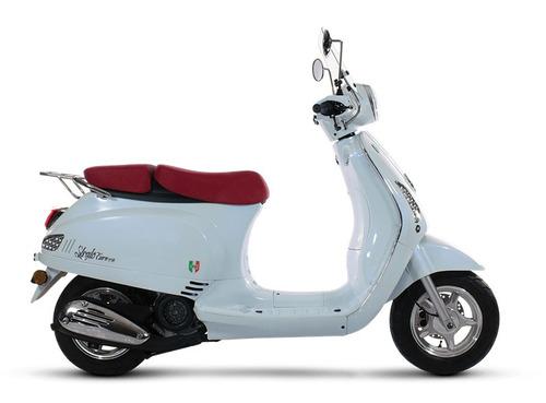 scooter motomel strato euro 150 0km 2019 retro 999 motos