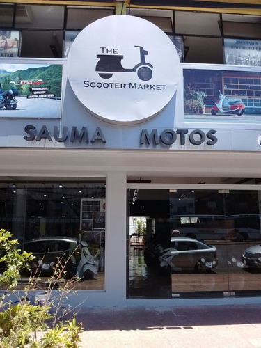 scooter motos daelim besbi