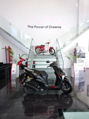 scooter new elite 125 honda 0km 2018 motopier honda la