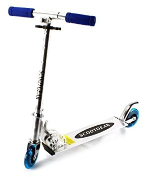 scooter niños de vt scootgear dos niños de metal con ruedas