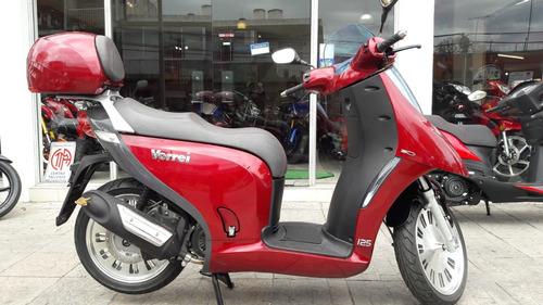 scooter nipponia 125 - simil  vx vespa ray z - bike up