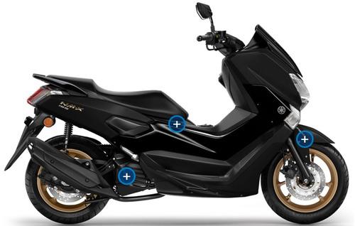 scooter nmx nmax yamaha 155 cc 2018 palermo bikes no kymco