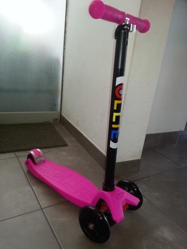 scooter ollie modelo estandar, niños niñas 6 años