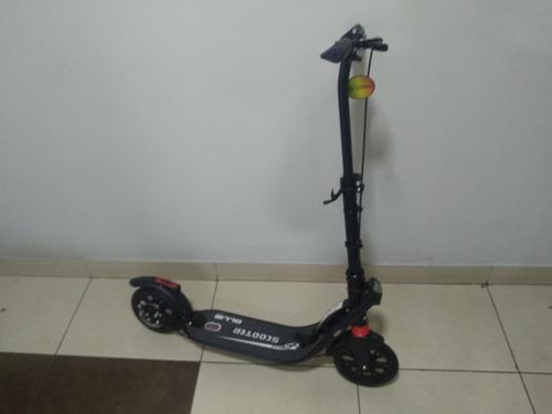 scooter ollie plegable hasta 130 kg adultos y niños grandes