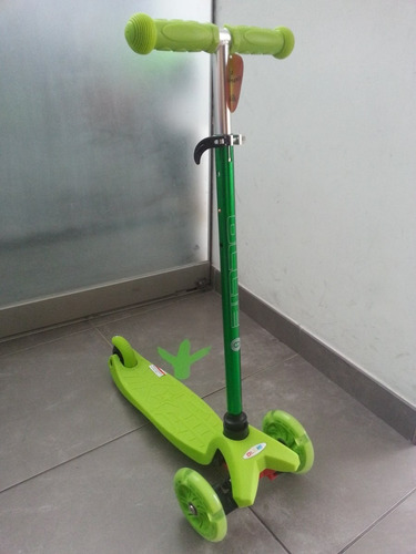 scooter ollie ruedas con luces niños niñas 2 a 5 años