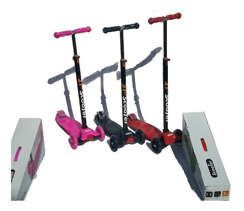 scooter patineta hidrauldica st 21 soporta 80 kg monopatin
