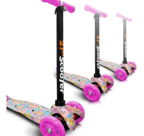 scooter patineta para niños juguete estampada monopatin
