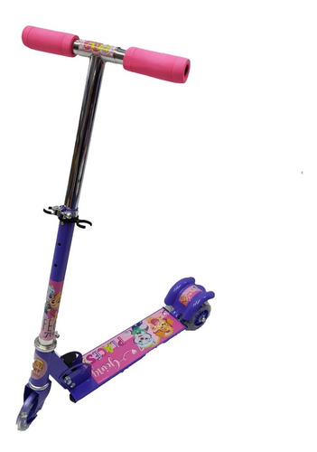 scooter paw patrol patin del diablo 3 ruedas luz full