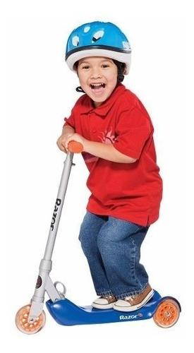 scooter razor jr. folding kiddie kick azul 13015040
