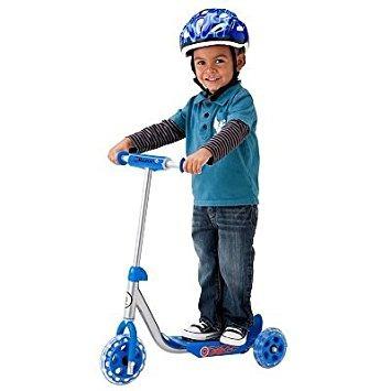 scooter razor jr. lil 'scooter kick - azul del juguete idea