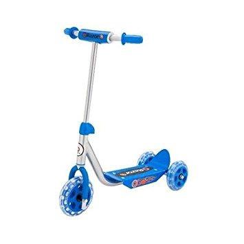 scooter razor junior lil 'kick vespa rosada, materiales plá
