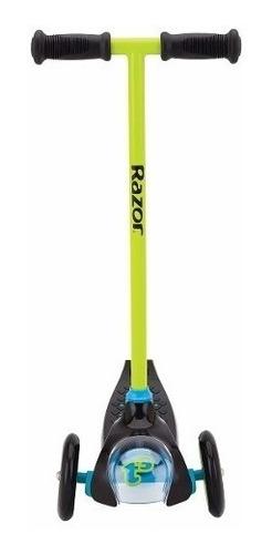 scooter razor t3 color verde para niño 20059631