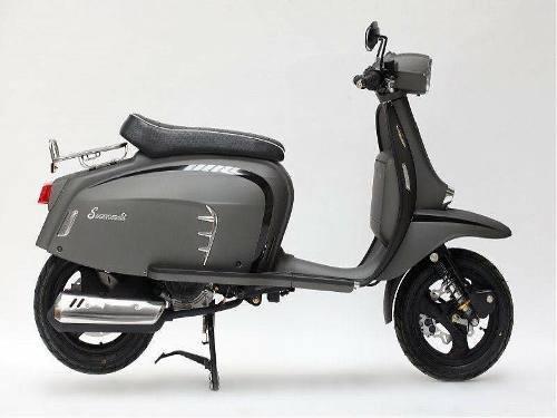 scooter royal alloy lambretta turismo leggera lt 125