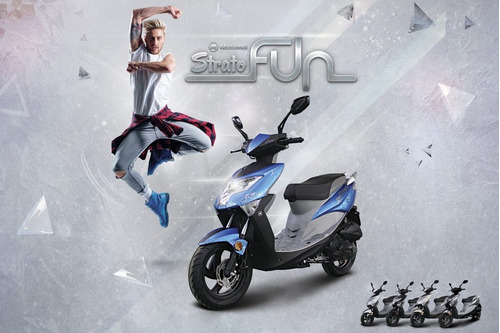 scooter strato fun 80 motomel san justo