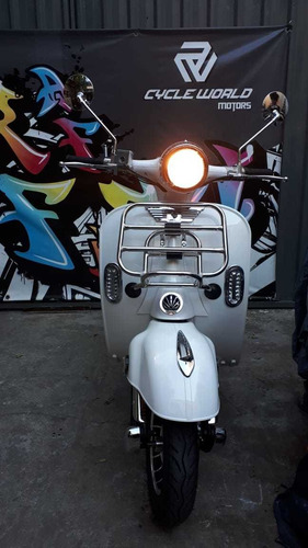 scooter sunra vespa electrica 3000w litio vintage retro