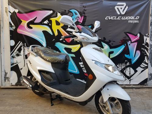 scooter suzuki an 125 0km 2018 cycle world motors ya a 10/11
