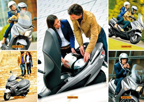 scooter suzuki burgman 200 oficial nuevo 2018 0km japon