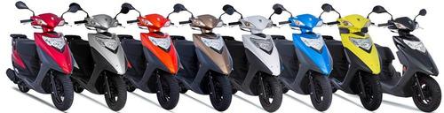 scooter suzuki lindy 125cc 0km 2018/2019 - 1 ano de garantia