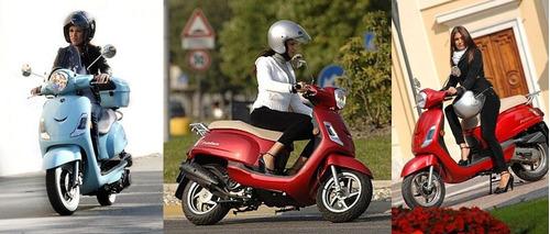 scooter sym 0km calidad japonesa no kymco.cycles motos