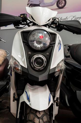 scooter sym 125 cc crox de calle street megamoto moreno