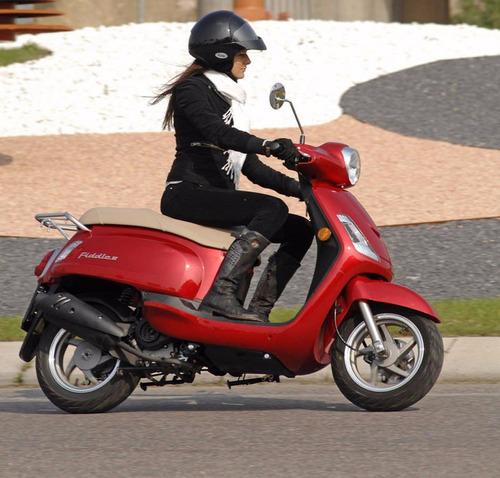 scooter sym 150 fiddle ii financialo hasta 36 cuotas fijas