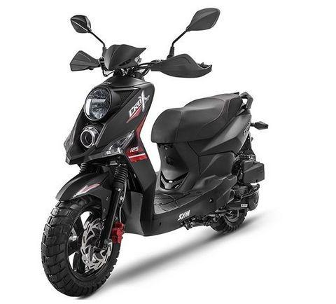 scooter sym crox 125 2020 negro 0km ap motos honda kymko