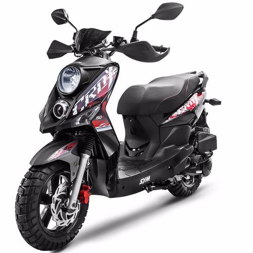 scooter sym crox 50cc 4 tiempos automatica entrega inmediata