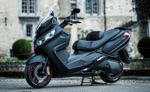 scooter sym maxsym 600 de calle street megamoto moreno