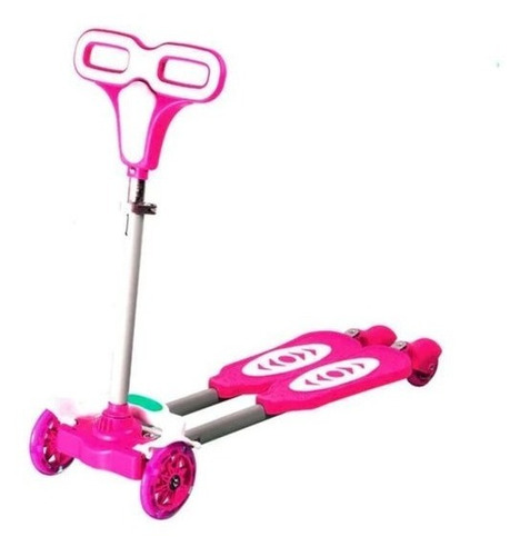 scooter tijera 4 ruedas niños