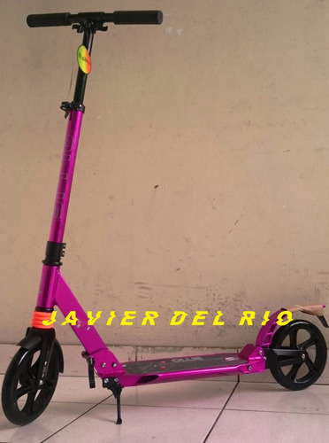 scooter todoterreno, doble suspension, 100kg, 1.90m en caja